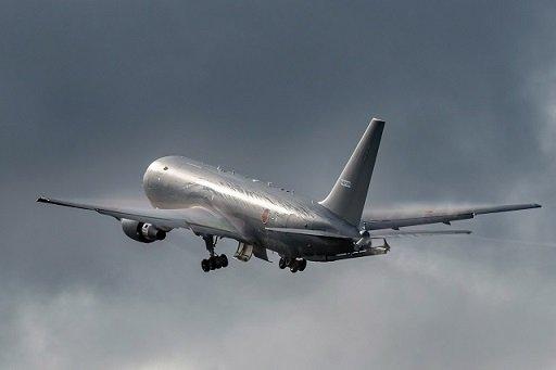 Состоялся первый полет Boeing KC-46 для Сил самообороны Японии