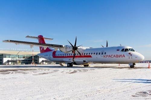 «КрасАвиа» открыла регулярные коммерческие рейсы на  ATR 72-500