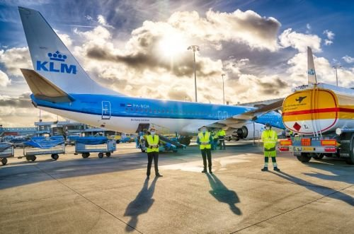 KLM выполнила первый в мире пассажирский рейс на экологическом топливе